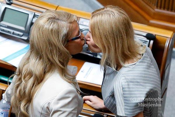 Сексуальний поцілунок Тимошенко та Черновецький знову хоче бути мером - фото 7
