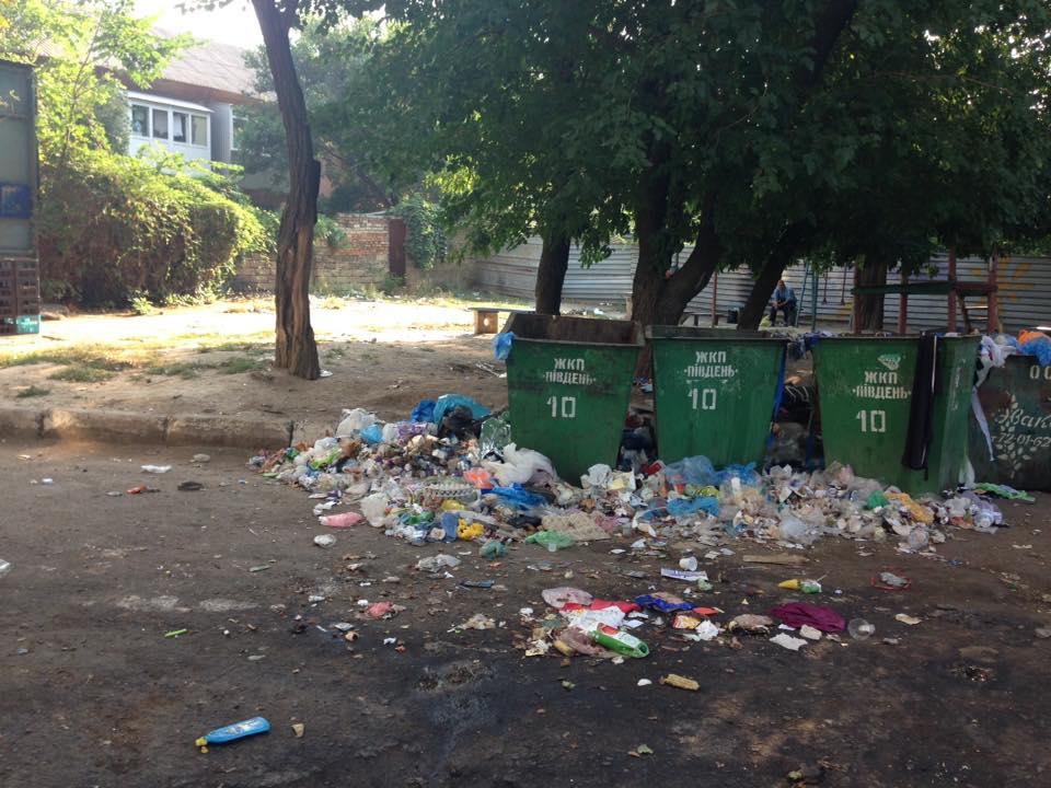 """У Миколаєві красуються """"сміттєві пейзажі біля будинків"""