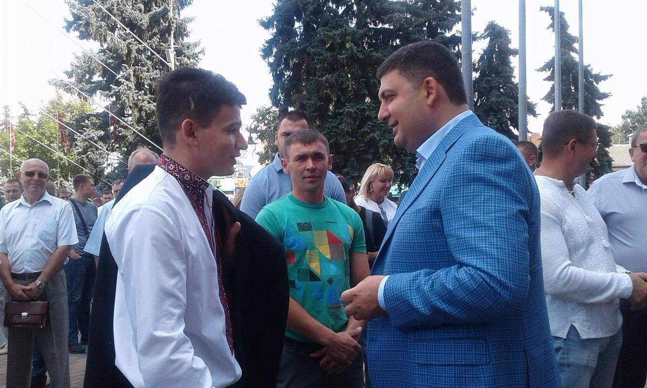 День міста у Вінниці святкують Порошенко, Гройсман, міністри та нардепи  - фото 4