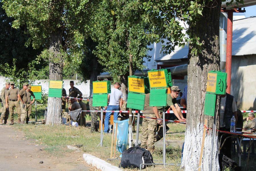 Миколаївська 79-ка проводить навчальні збори з резервістами - фото 2