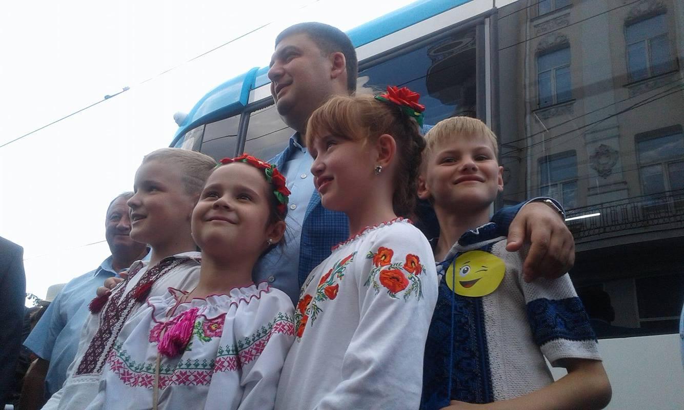 День міста у Вінниці святкують Порошенко, Гройсман, міністри та нардепи  - фото 1