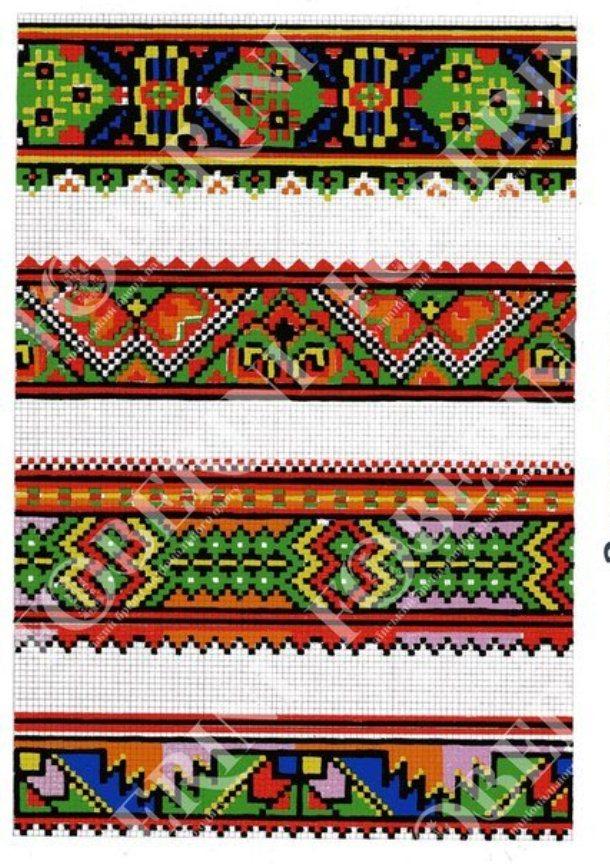 Закарпатська вишиванка  Як не сплутати бойківський орнамент з гуцульським  та лемківським - фото 3 90bf555d4c542