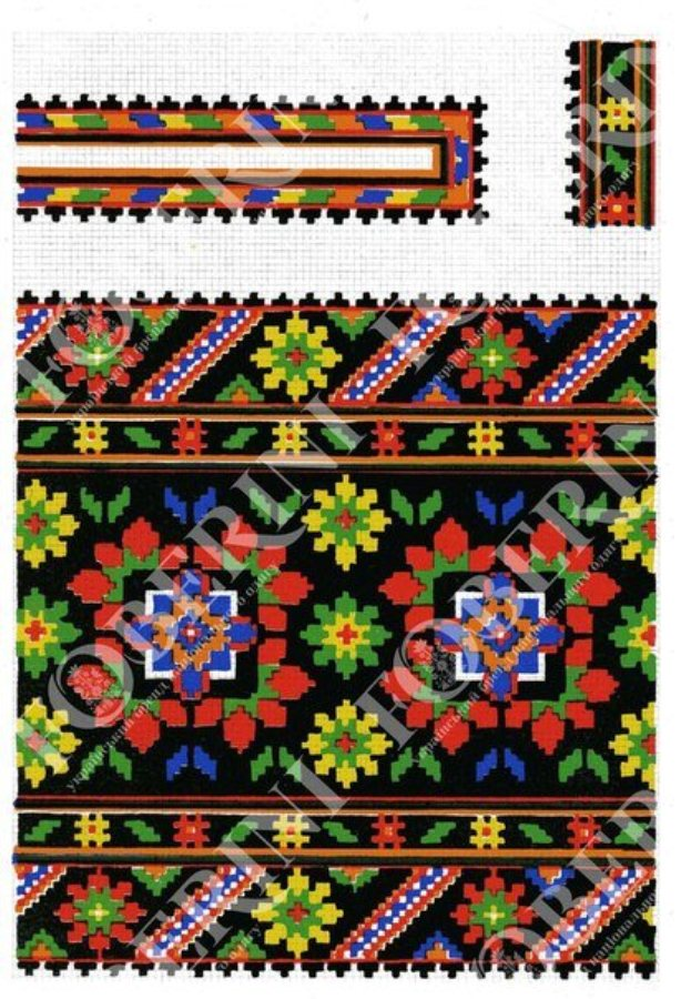 Закарпатська вишиванка  Як не сплутати бойківський орнамент з гуцульським  та лемківським - фото 2 bac3cb6fda0a9