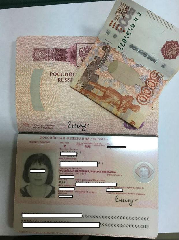 На Харківщині затримали росіянку, яка давала хабар непідкупним прикордонникам - фото 1