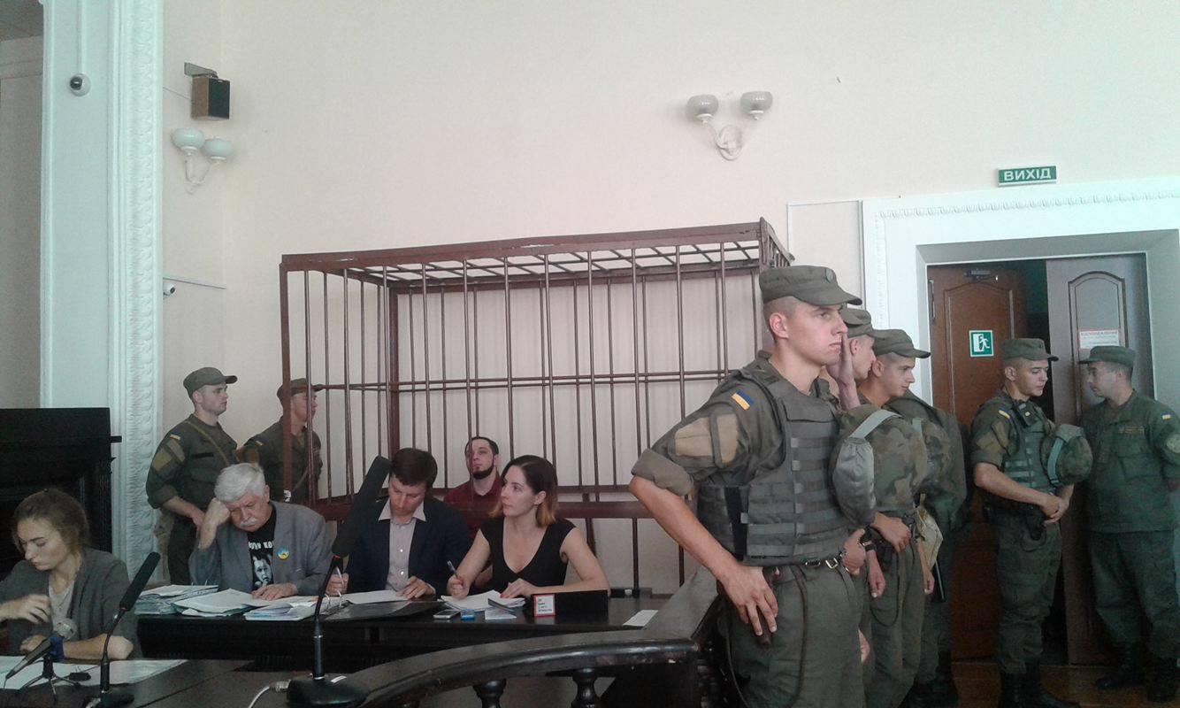 В суді по справі вінницького активіста Хорта почали слухати свідків - фото 8