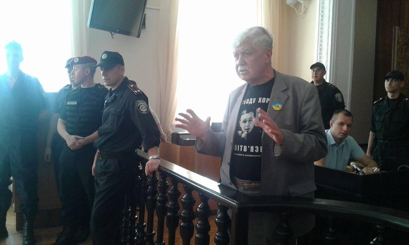 В суді по справі вінницького активіста Хорта почали слухати свідків - фото 6