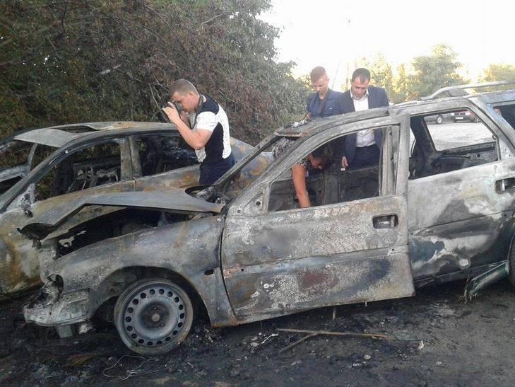 """У Вінниці невідомі на Опелі """"знесли"""" Мерседес з дороги і розстріляли його водія - фото 2"""