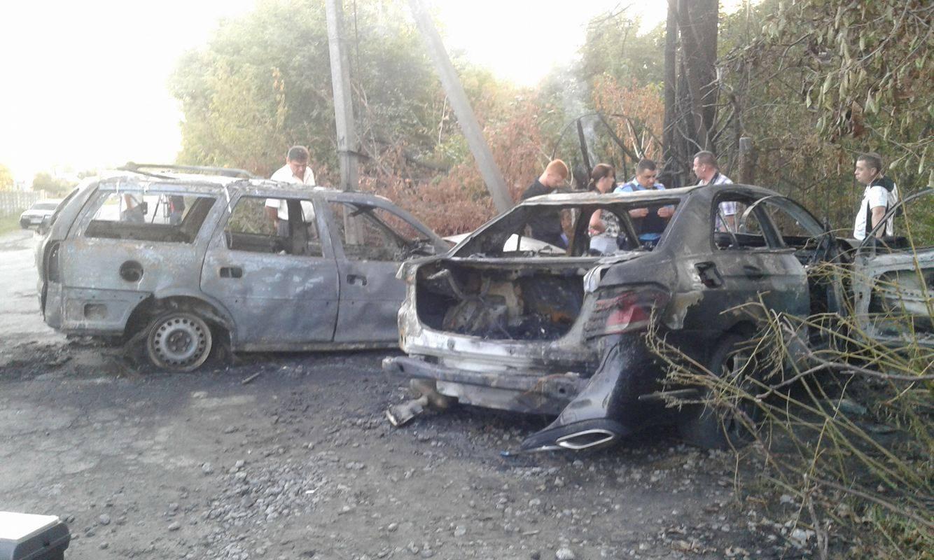 """У Вінниці невідомі на Опелі """"знесли"""" Мерседес з дороги і розстріляли його водія - фото 3"""