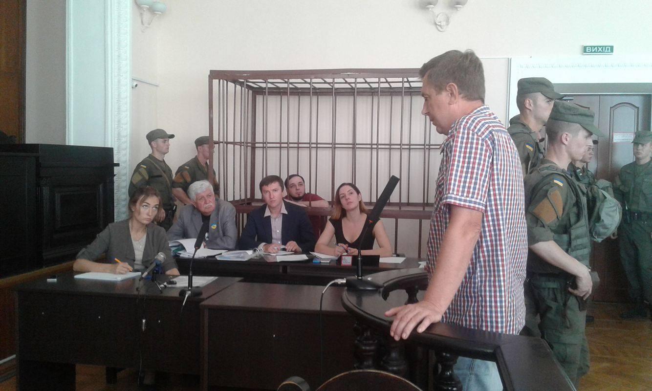 В суді по справі вінницького активіста Хорта почали слухати свідків - фото 4