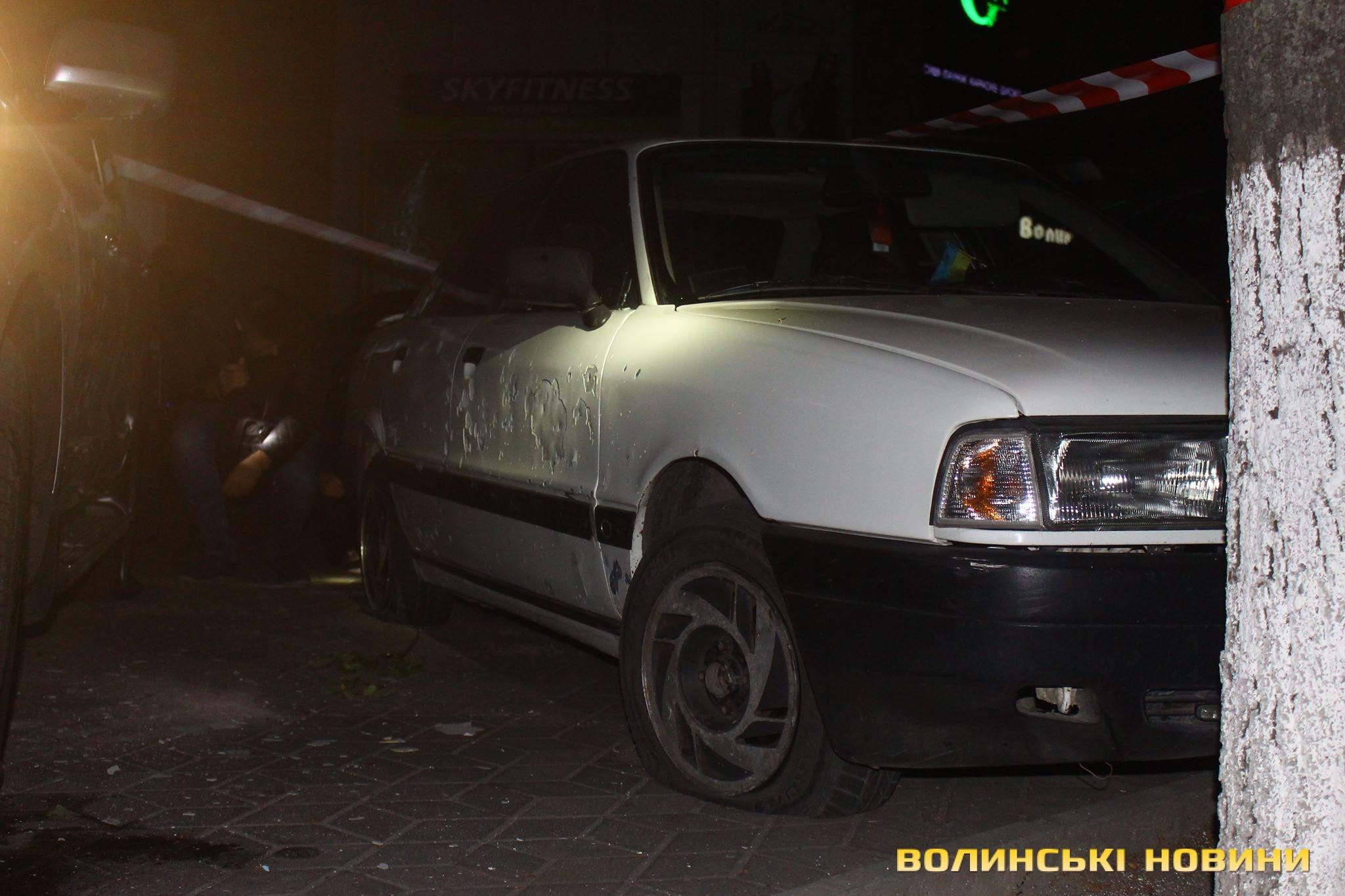 """У Луцьку прогримів вибух: Підірвали """"Лексус"""" - фото 1"""