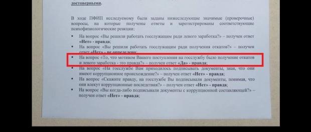 Лікарчука спіймали на підробці тесту поліграфа (ФОТО, ВІДЕО)  - фото 1