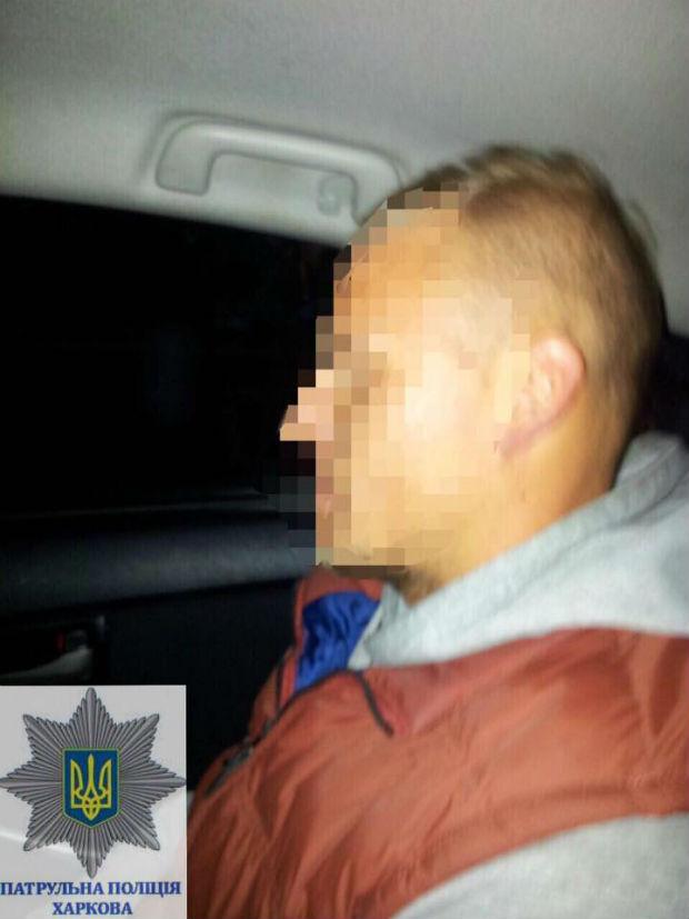 На околиці Харкова затримали учасника масових заворушень - фото 1