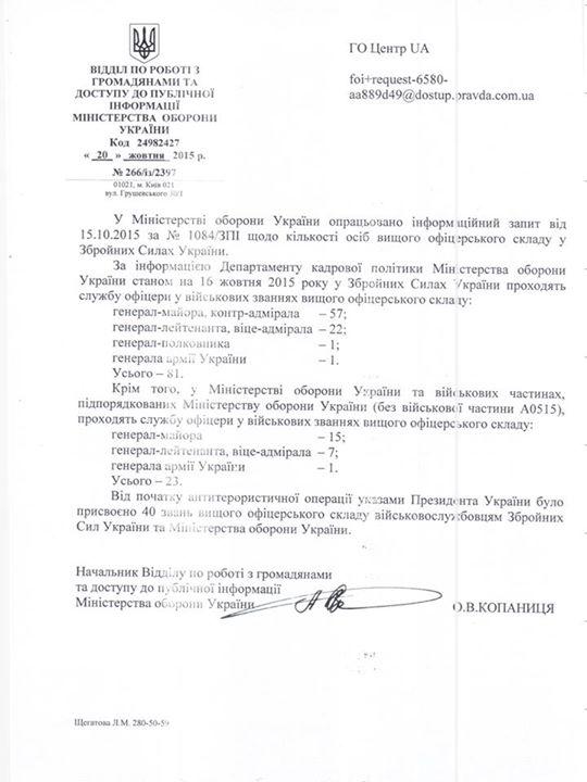 За час проведення АТО Порошенко роздав 40 генеральських звань - фото 1