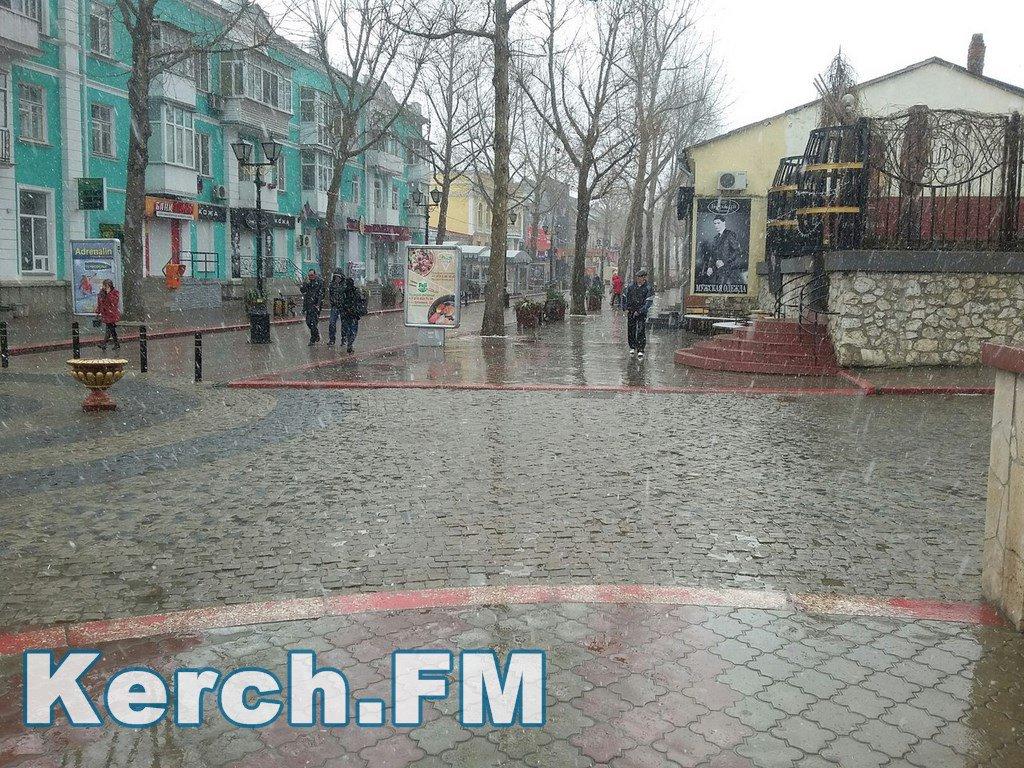 Весна у Криму: Сніг, холод та брудні калюжі - фото 5