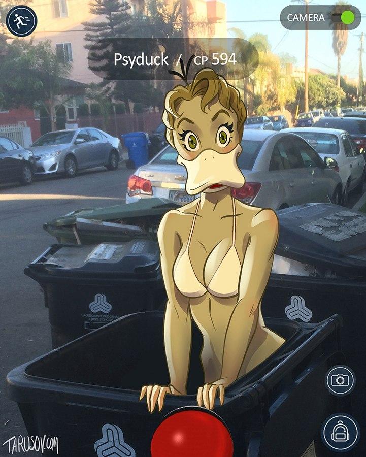 У мережі з'явилися еротичні покемони  - фото 2