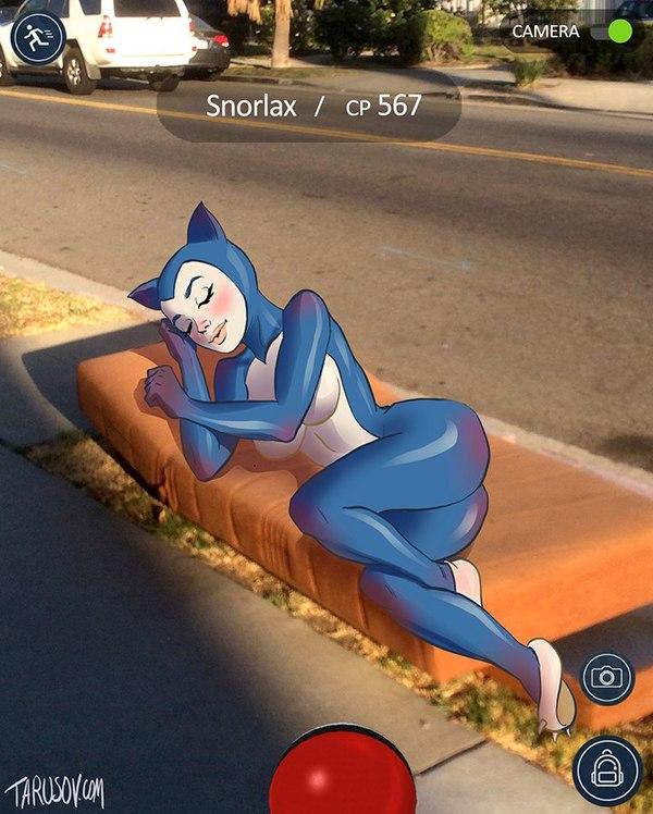 У мережі з'явилися еротичні покемони  - фото 8