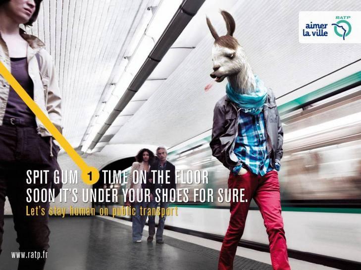 """Як парижан закликатимуть бути """"хомо сапієнс"""" в громадському транспорті - фото 8"""