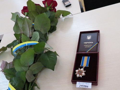 """Вінничанин отримав орден """"За мужність"""" від Президента - фото 1"""