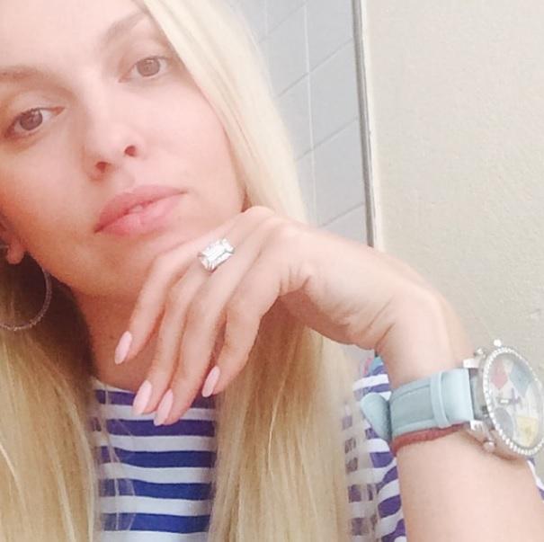 Полякова без макияжа