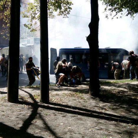 У Харкові стрілянина: невідомі напали на автомобіль охорони Добкіна  - фото 3