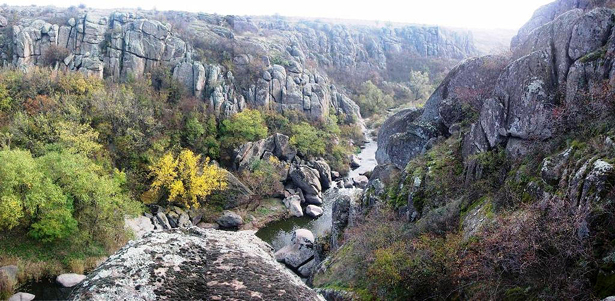 Актівський каньйон на Миколаївщині
