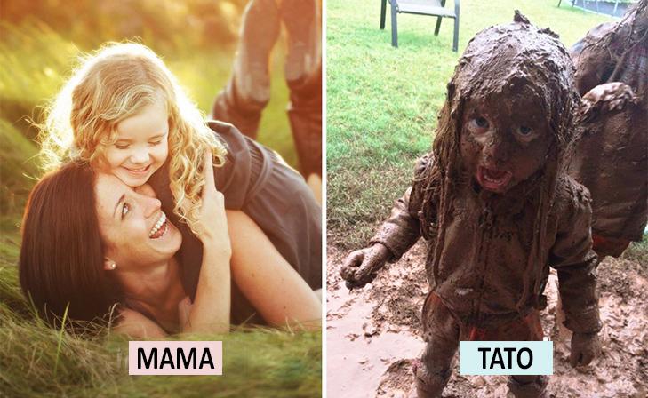 Мама Vs Тато: Як по-різному можна виховувати дитину  - фото 1