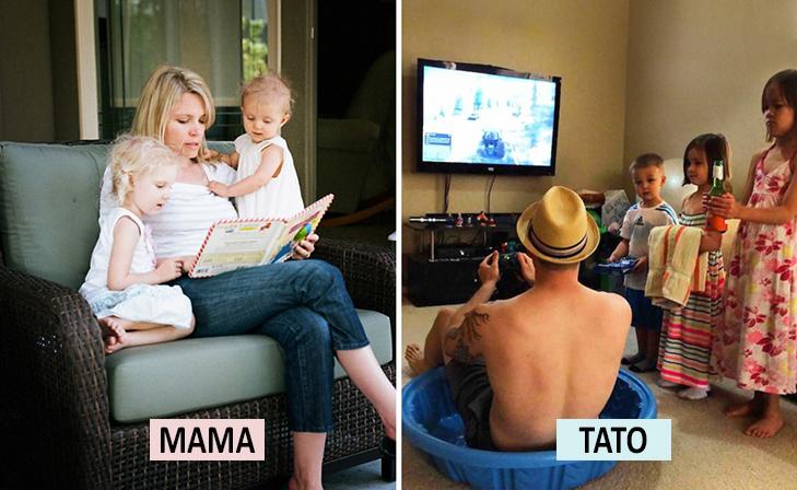 Мама Vs Тато: Як по-різному можна виховувати дитину  - фото 3
