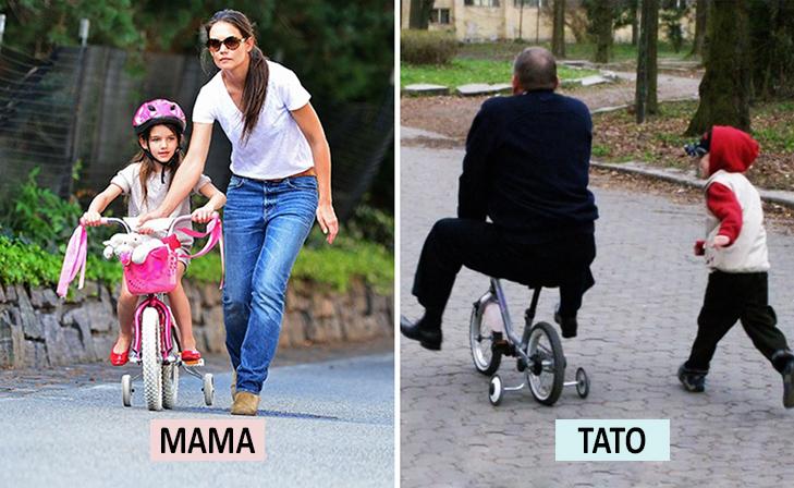 Мама Vs Тато: Як по-різному можна виховувати дитину  - фото 10