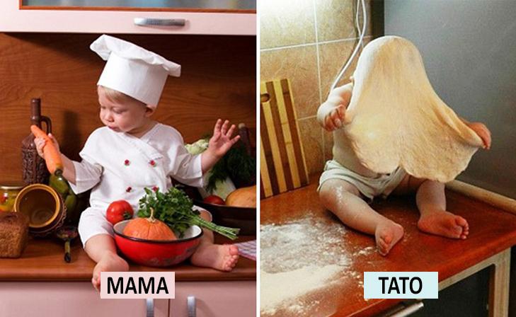 Мама Vs Тато: Як по-різному можна виховувати дитину  - фото 4