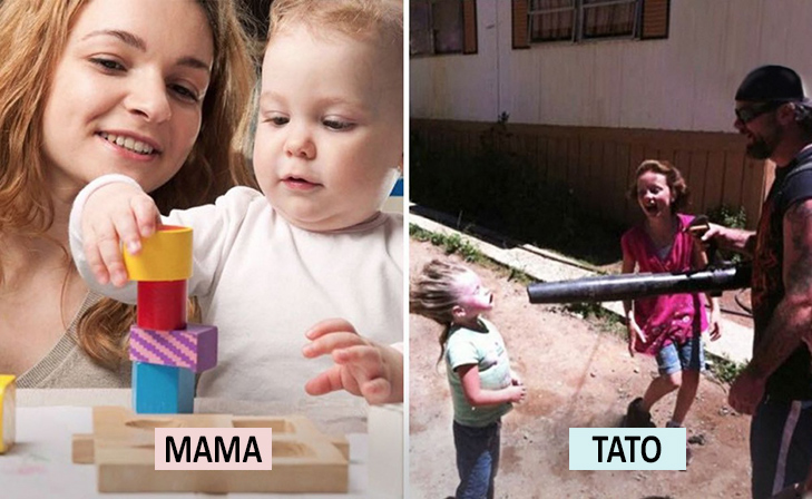 Мама Vs Тато: Як по-різному можна виховувати дитину  - фото 19