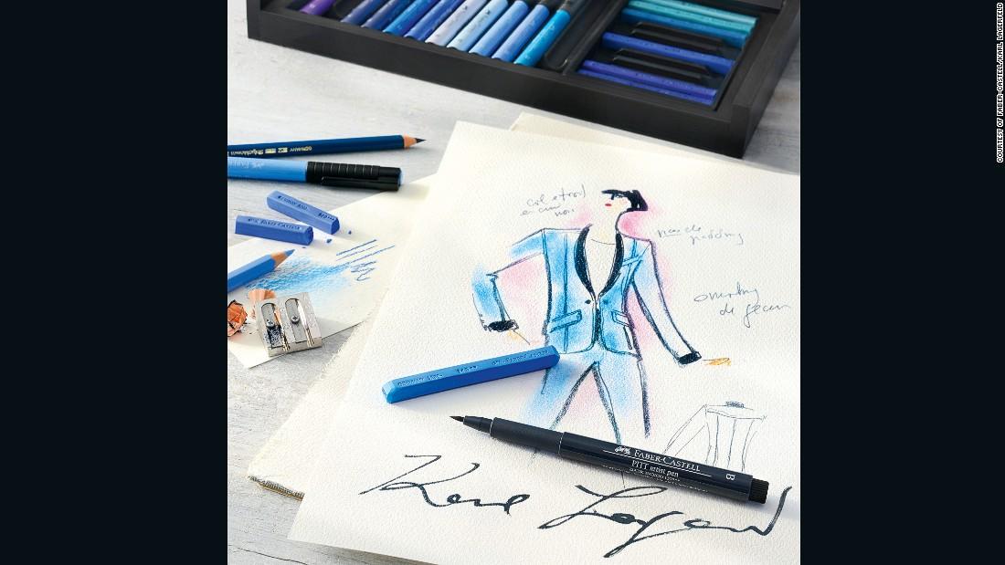 Лагерфельд випустив набір олівців, який коштуватиме більше ніж 80 тис.грн - фото 3
