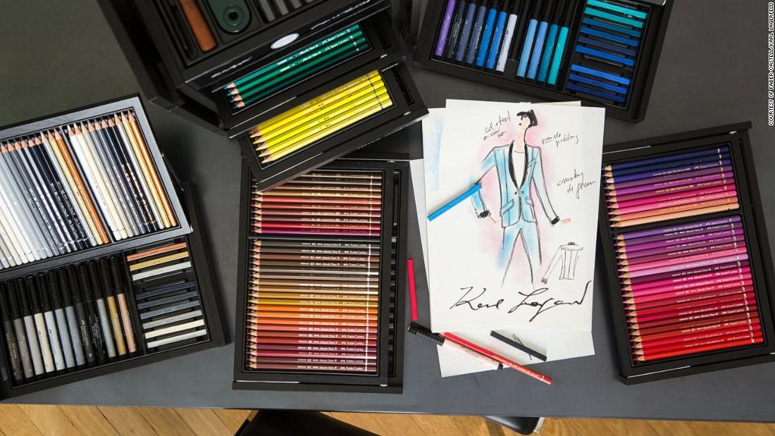 Лагерфельд випустив набір олівців, який коштуватиме більше ніж 80 тис.грн - фото 1
