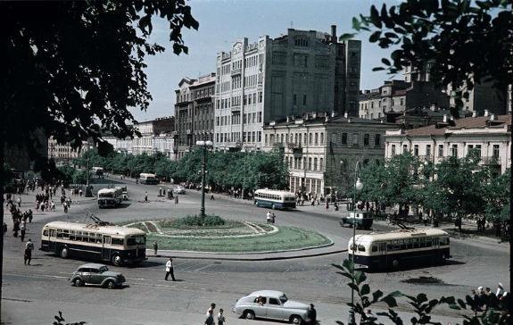 Місто-парк: як виглядав Київ понад 65 років тому  - фото 3