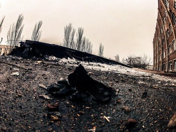 Опубліковані фото зруйнованої лікарні в Донецьку (ФОТОРЕПОРТАЖ) - фото 3