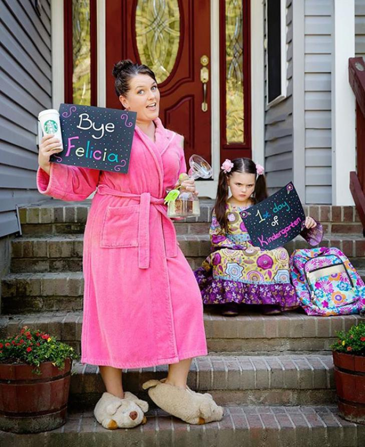 15 нестримно щасливих батьків, які, нарешті, відправляють дітей до школи - фото 12