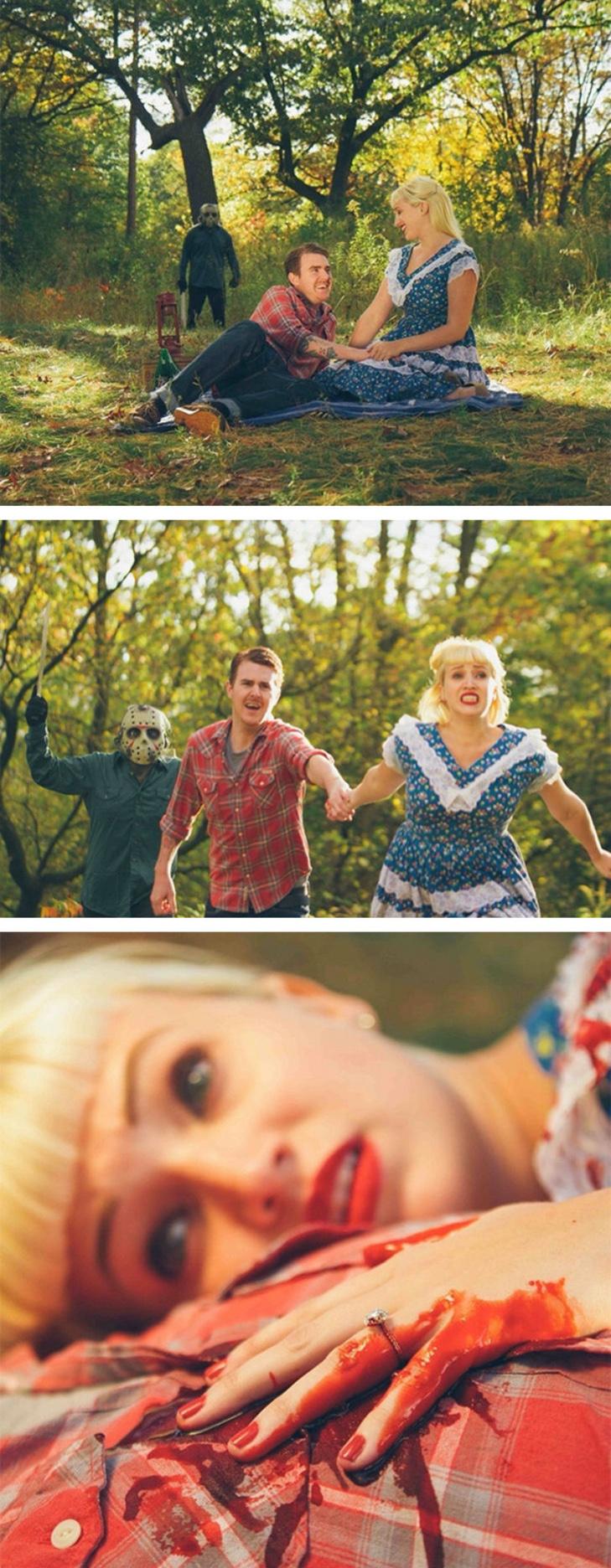 20 креативних ідей для фотографій заручин - фото 6
