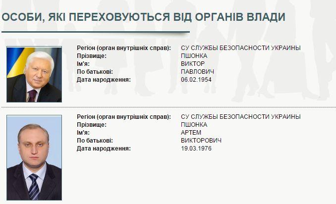 СБУ оголосила у розшук сина Пшонки - фото 1