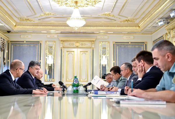 У Порошенка почав засідати Воєнний кабінет - фото 1