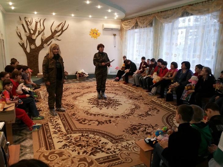 Волонтери вінницького політеху повернулись з зони АТО - фото 1