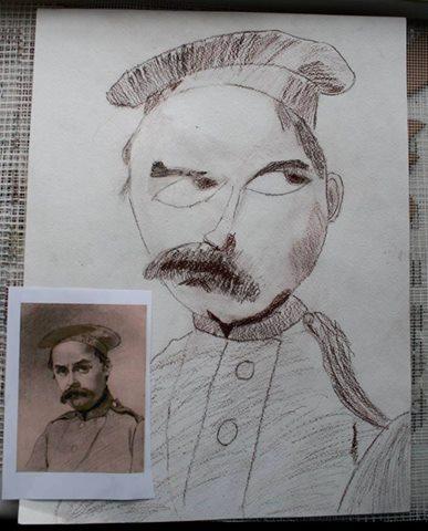 Шевченко очима дітей: як малеча кумедно малює Кобзаря  - фото 1