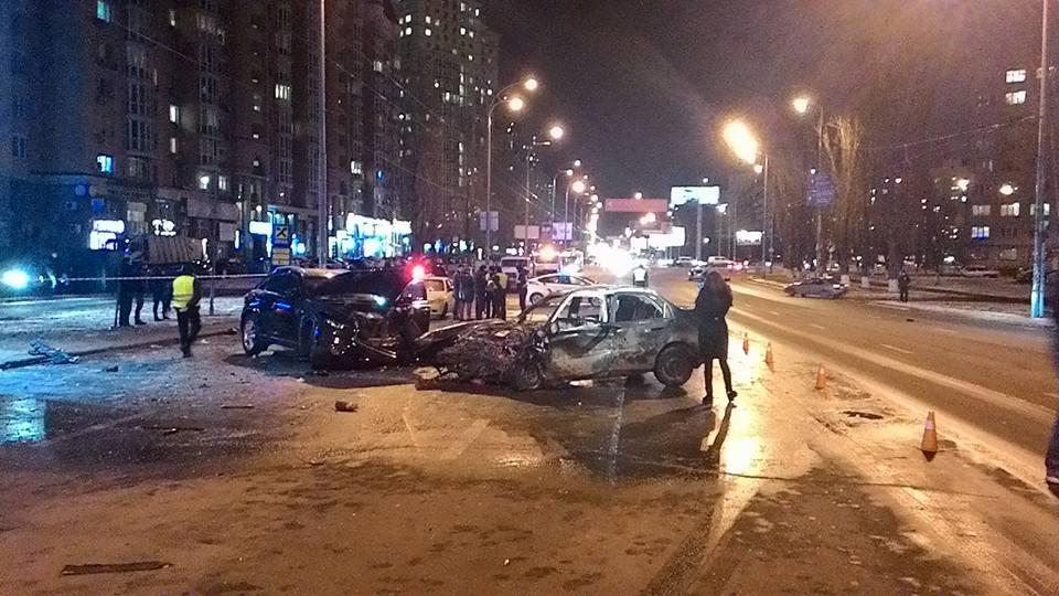 Жалива ДТП у Києві: є загиблі - фото 1