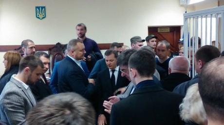 """Суд відклав розгляд справи Мосійчука. """"Ляшківці"""" заблокували суд - фото 1"""