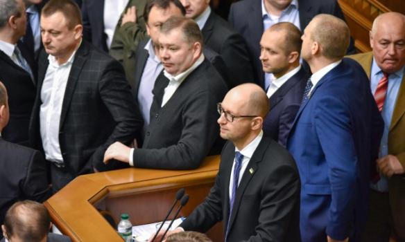 У Раді зчинилася масова бійка під час звіту Яценюка - фото 6