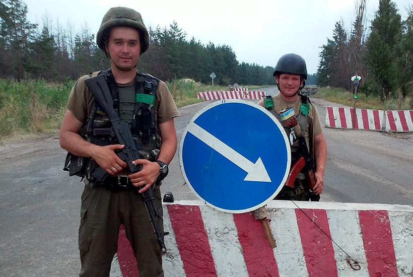 Харківські гвардійці затримали п'яного водія в зоні АТО  - фото 1