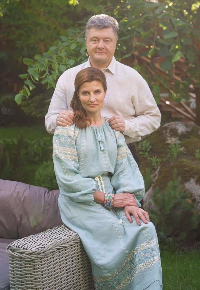 """""""Я найщасливіша людина"""": Порошенко написав зворушливе зізнання дружині - фото 1"""
