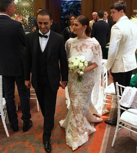 Як дочка екс-регіонала Васадзе відгуляла весілля  - фото 5