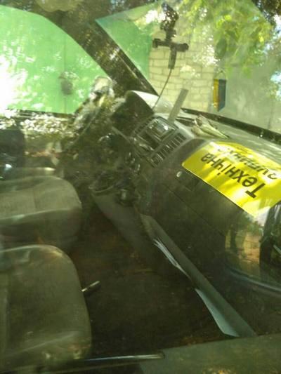 Напад на інкасаторів на Харківщині: фото з місця події  - фото 2