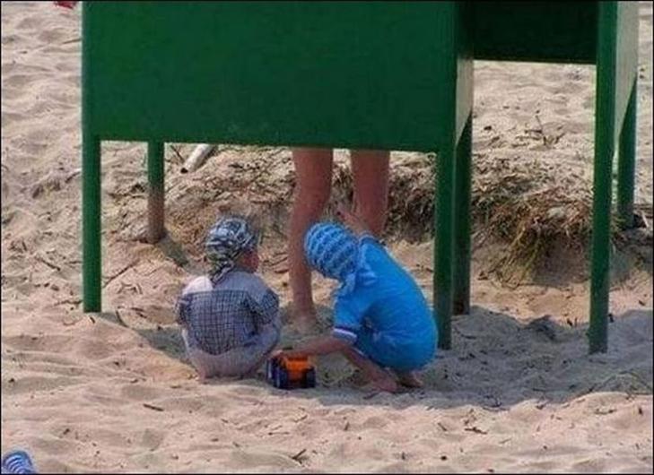 30 дивних і кумедних пляжних фотографій (Частина 2) - фото 21