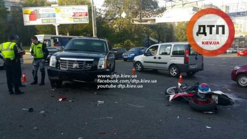 Біля столичного вокзалу на мотоциклі розбився екс-зять Блохіна (ФОТО) - фото 1