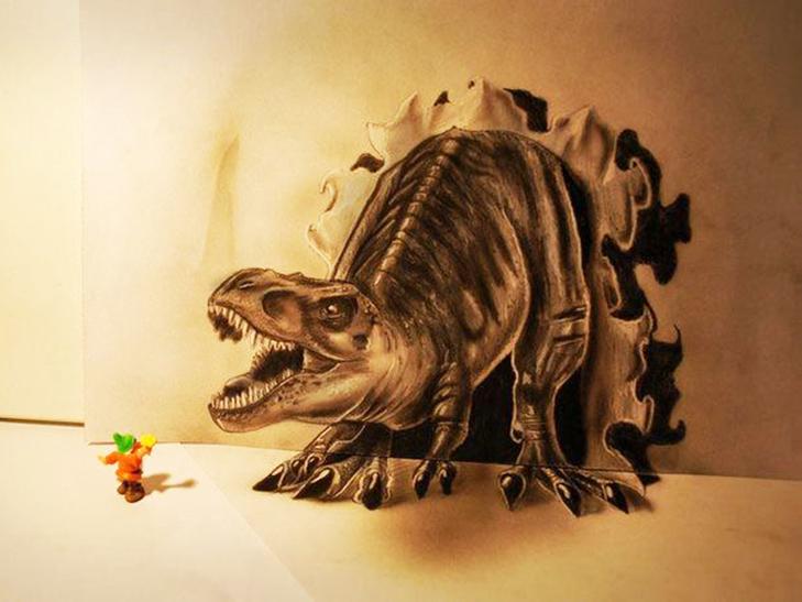 35 неймовірних 3D-малюнків олівцем - фото 4